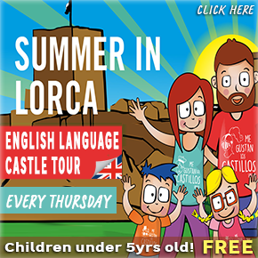 Lorca Castle guided tours in English