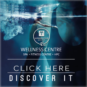 La Manga Club Wellness banner