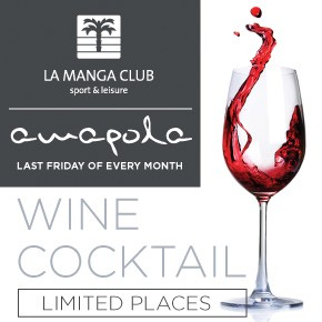 La manga Club Wine Banner