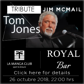 La Manga Tom Jones Tribute