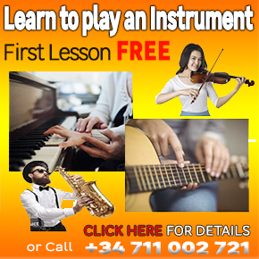 Nicky Vince Learn to play Music Banner