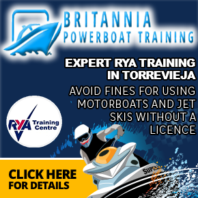 Britannia Powerboat Training Torrevieja