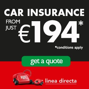 Linea Directa CAR INSURANCE LEFT column L-Z Sponsor