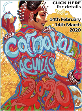 Aguilas Carnival 2020 Banner