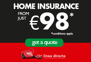 Linea Directa HOME INSURANCE Top Of Page