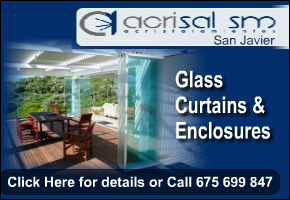 Acrisal Glass Curtains