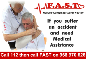 FAST Medical Emergencies Registered Charity G30863658