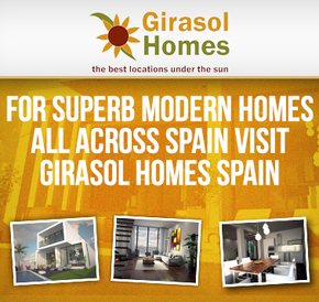 Girasol Homes Orange Banner
