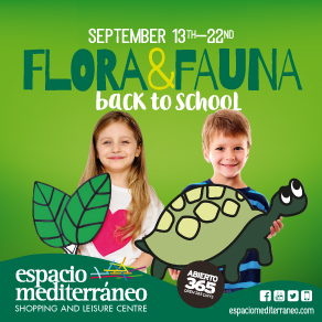 Espacio Mediterraneo Back to School Sponsors Banner