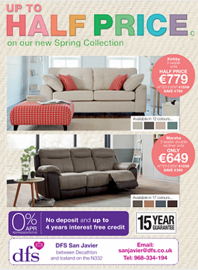 DFS FURNITURE WEEKLY BULLETIN