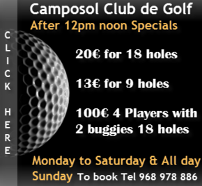 Club de golf Twilight offer