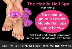The Mobile Nail Spa Mar Menor