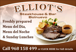 Elliots Bar & Restaurant Bolnuevo