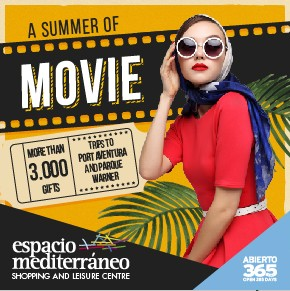 Espacio Mediterraneo Movies Banner weekly Bulletin