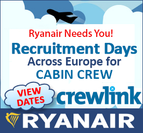 Crewlink Ryanair recruitment days