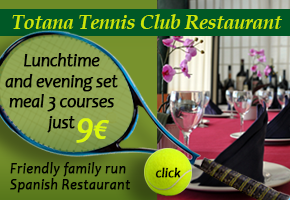 Totana Tennis Club Restaurant
