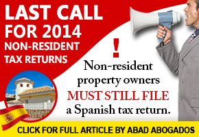 Abad Tax Return Banner