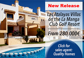 Atalayas New Phase property La Manga Club