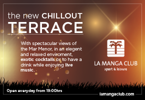 La manga Club chill out terrace