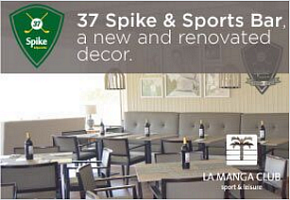 La Manga Club 37 Spike & Sports Bar