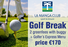 La manga Club Golf break 170