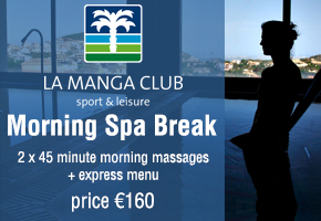 La Manga club Spa break