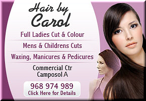 Hair by Carol Camposol