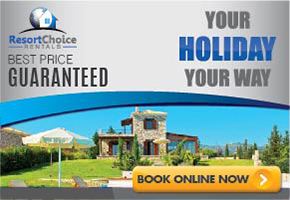 Resort choice banner