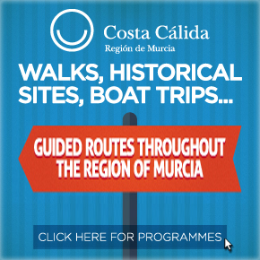 Murcia Turistica Whats ON section sponsors Walking Guided Routes