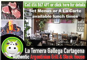 La Ternera Restaurant Cartagena